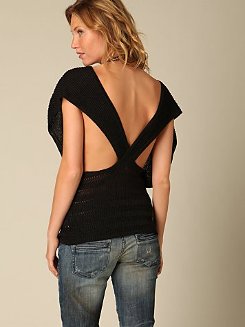 All About the Back Dolman Top