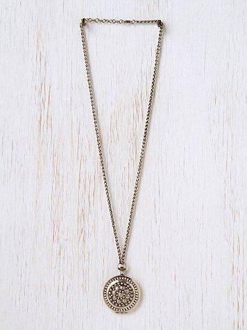 Mosaic Locket Necklace