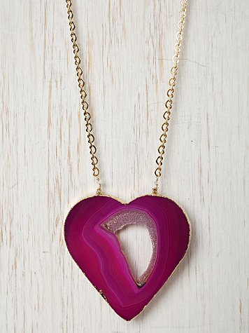 Missing Piece Heart Necklace