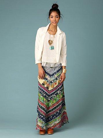 Praga Patch Skirt