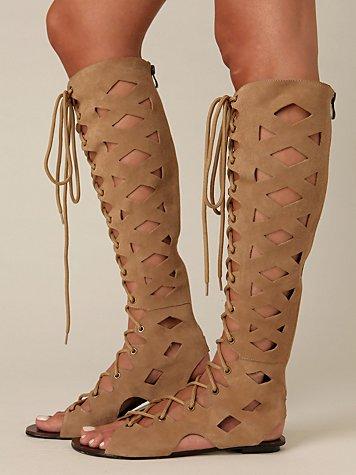 Cleo Lace Up Sandal