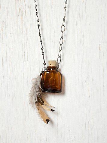 Vintage Bottle Necklace