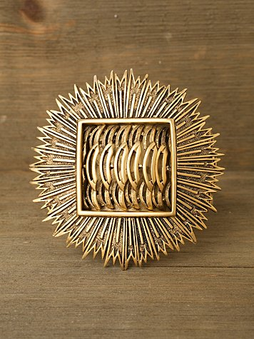 Golden Sunburst Cuff
