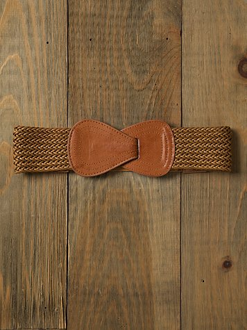Reese Woven Leather Belt