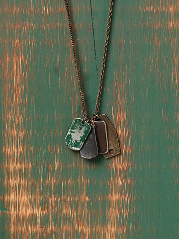 ID Charm Necklace