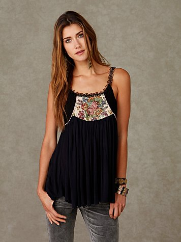 Tapestry And Lace Tank