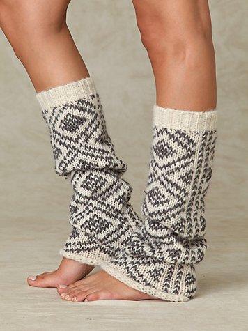 Peruvian Pattern Legwarmer