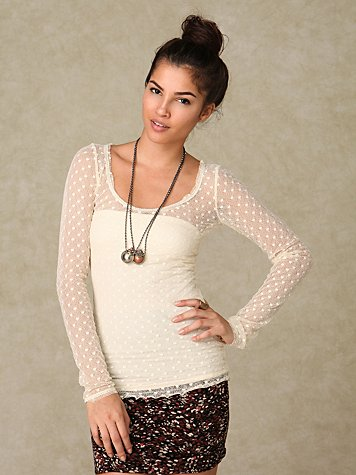 Dotted Mesh Layering Top