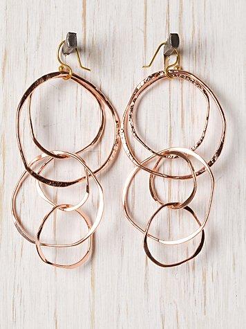 Bania Hoops Earring