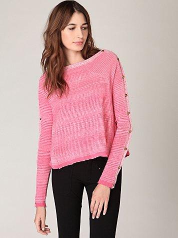 We The Free Side Lighting Long Sleeve Sweater