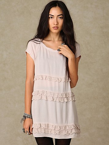Ruffle T-Shirt Dress