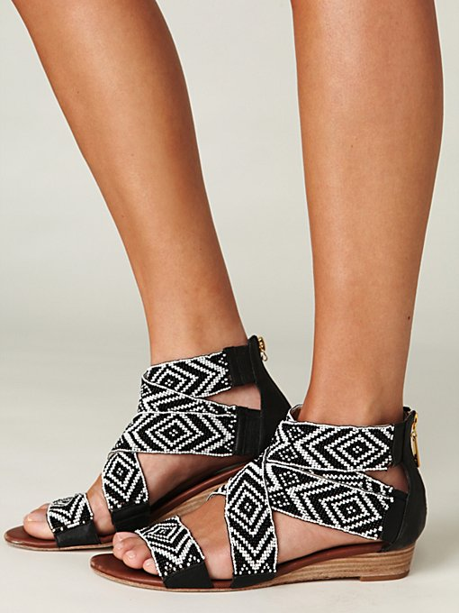 Delphine Wedge Sandal