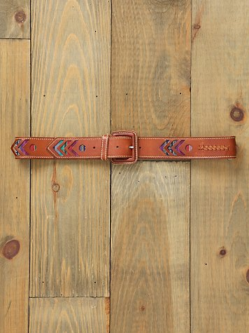Arrow Striped Hip Belt