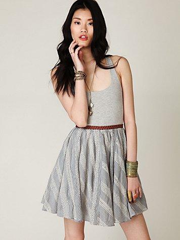 Fit N Flare Circle Dress