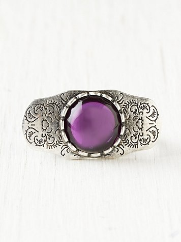Western Moonstone Ring