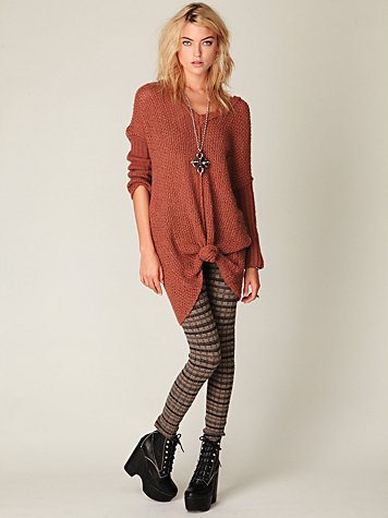 Poconos Sweater Legging