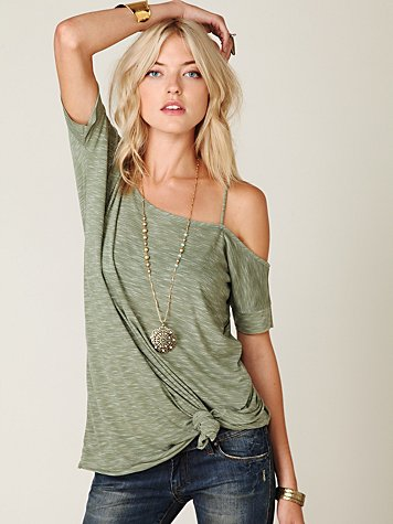 We The Free Off the Shoulder Extreme Tunic
