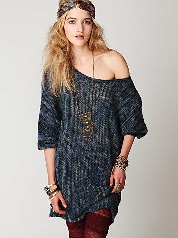 Spacedye Sweater Dress