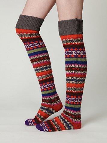 Bruna Tall Sock