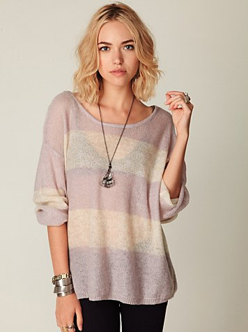 Wide Stripes Pullover