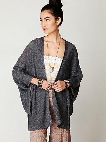 Kimono Solid Sweater