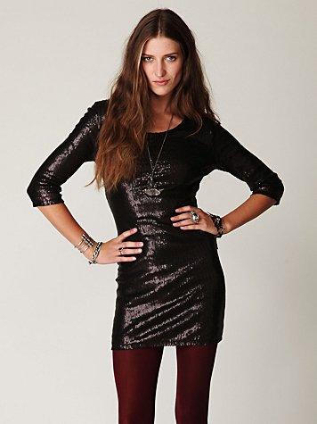 Sequin Sway Dress