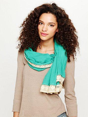 Tangier Crochet Scarf