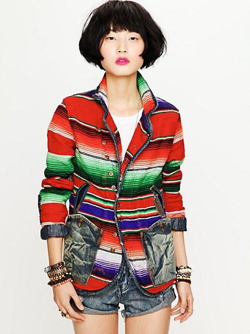 Mexican Blanket Jacket