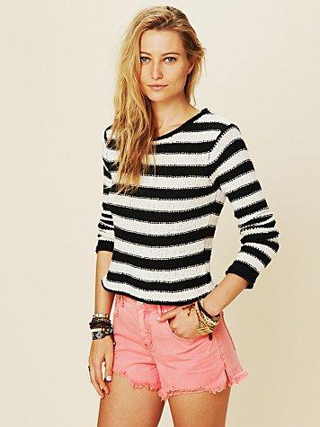 Beachy Stripe Pullover