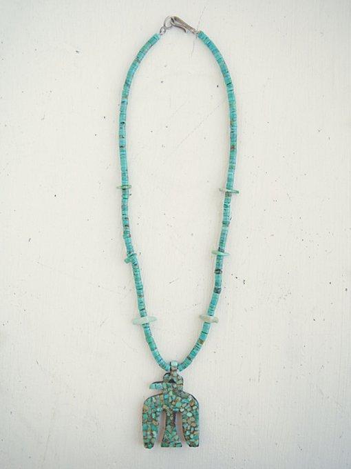 Vintage Thunderbird Necklace