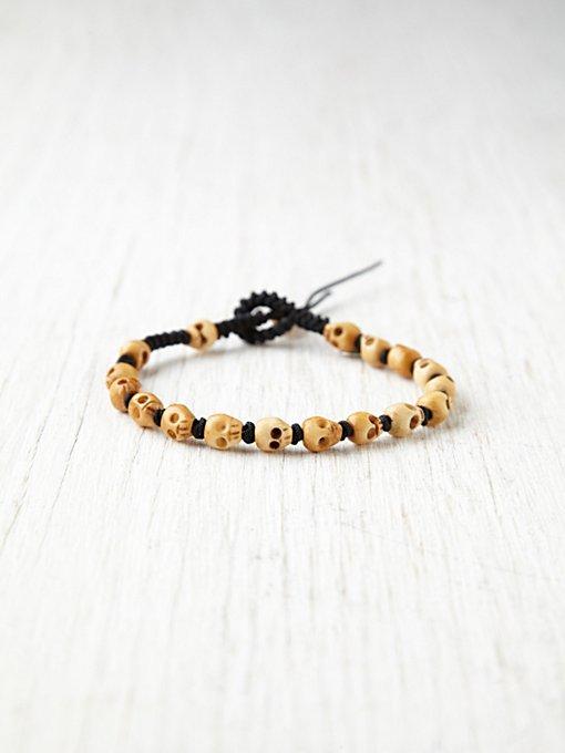 Lagoon Skull Bracelet