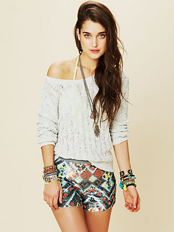 Beach Cable Pullover