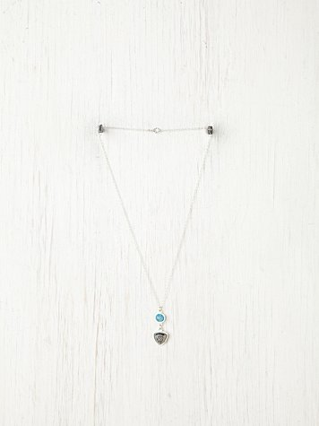 Double Druzy Necklace