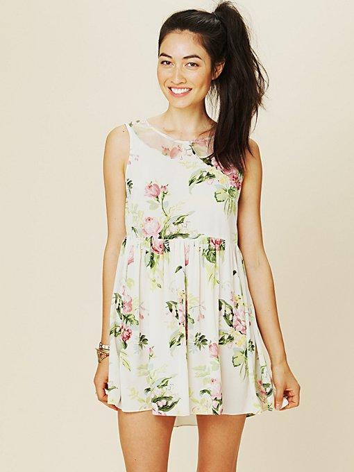 Terri's Printed Dress