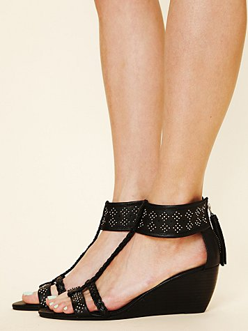 Aria Studded Mini Wedge