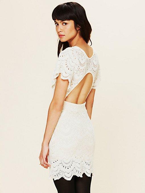 Flutter Spanish Lace Dress