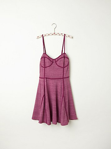 Fit and Flare Bustier Slip