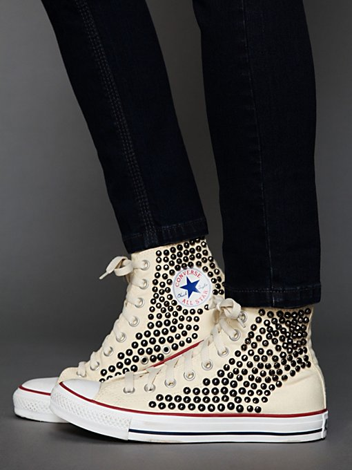 Tommy Studded Chucks