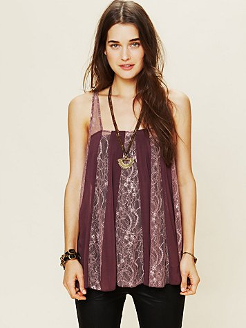 Pieced Lacey Tunic