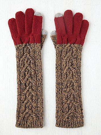 Touch Screen Long Glove