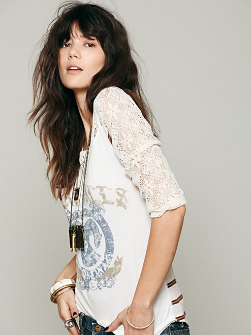 Love Me Long Sleeve Graphic Top
