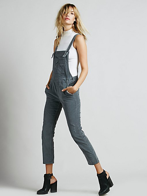 Washed Corduroy Overall