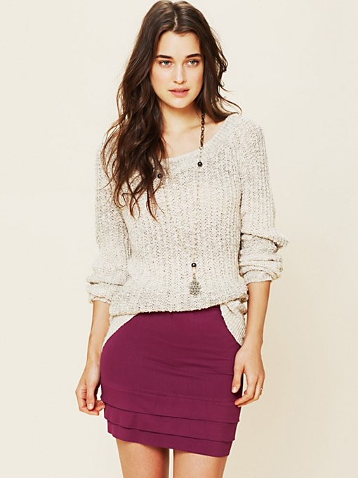 Seamless Tiered Skirt