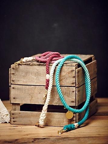 Overdyed Rope Leash