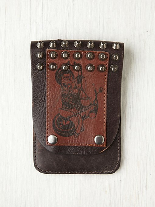 Moto Studded iPhone 4/4S Wallet