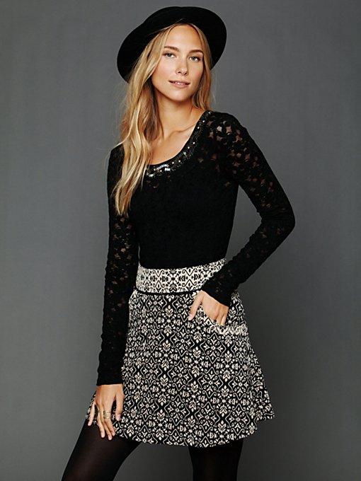 Carpet Bag Circle Skirt