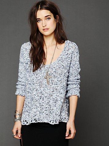 Color Pop Spacedye Pullover
