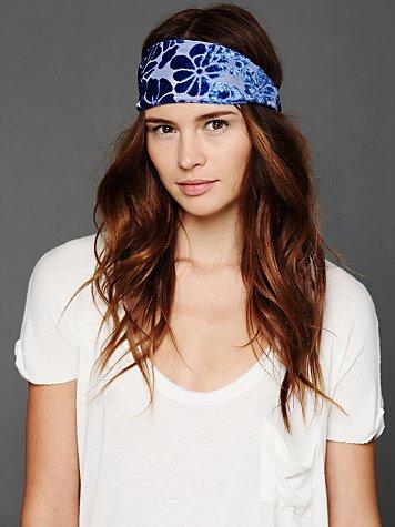 Velvet Burnout Headband