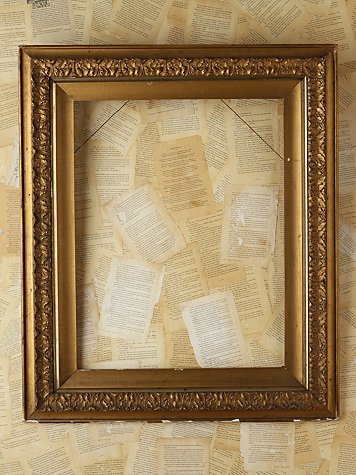 Vintage Large Gold Frame