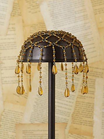 Vintage Glass Headpiece